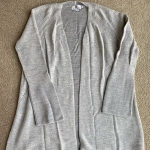 NWOT Vineyard Vines Gray Cardigan Wool/Cashmere